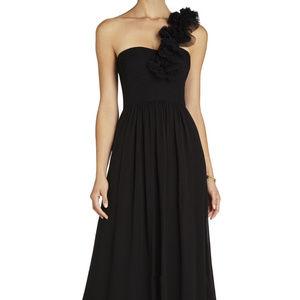 BCBG MAXAZRIA Patricia One-Shoulder black 6 #349 Dresses - BCBG MAXAZRIA Patricia One-Shoulder black 6 #349
